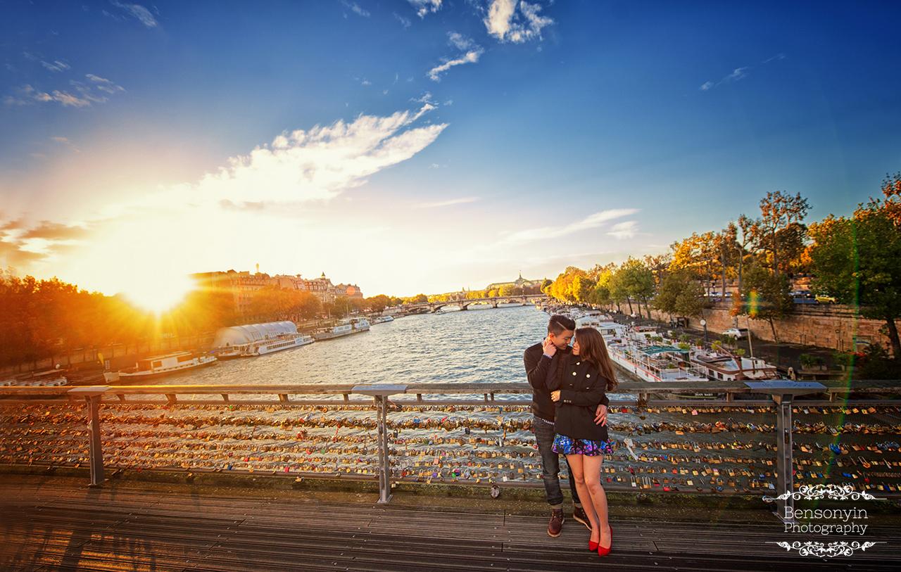 Bensonyin.com paris prewedding