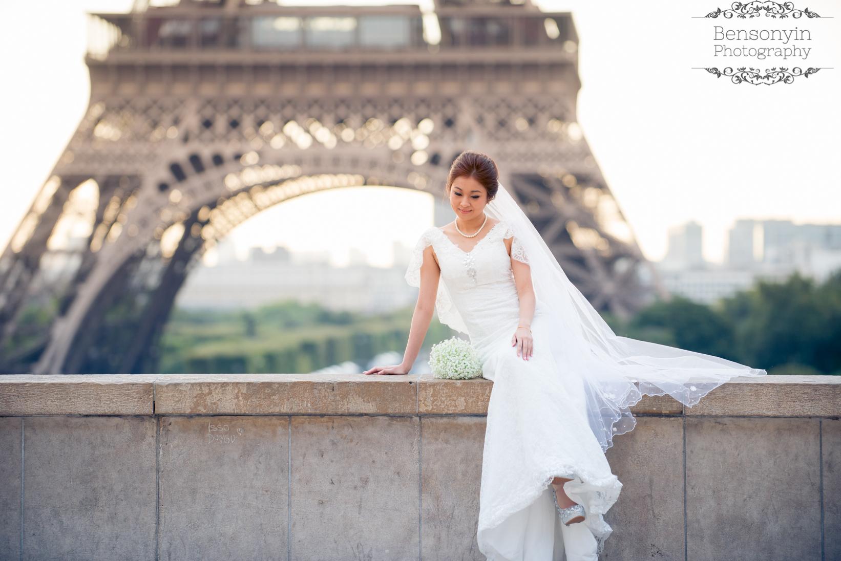 Paris europe pre-wedding