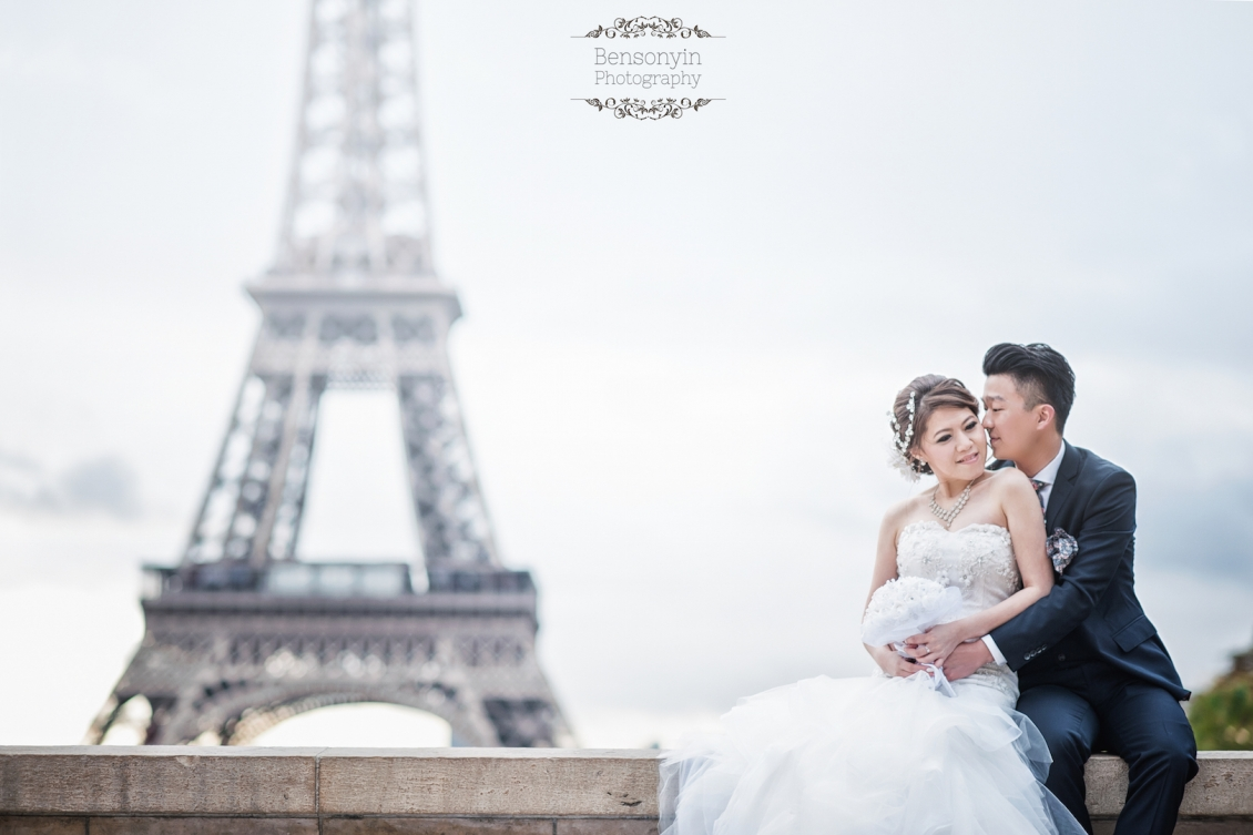 Eiffel Love -Paris Pre-wedding
