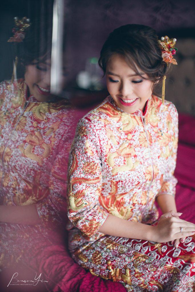malaysia actual day wedding photographer