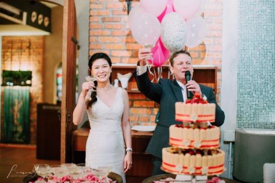 ciao ristorante wedding reception photography