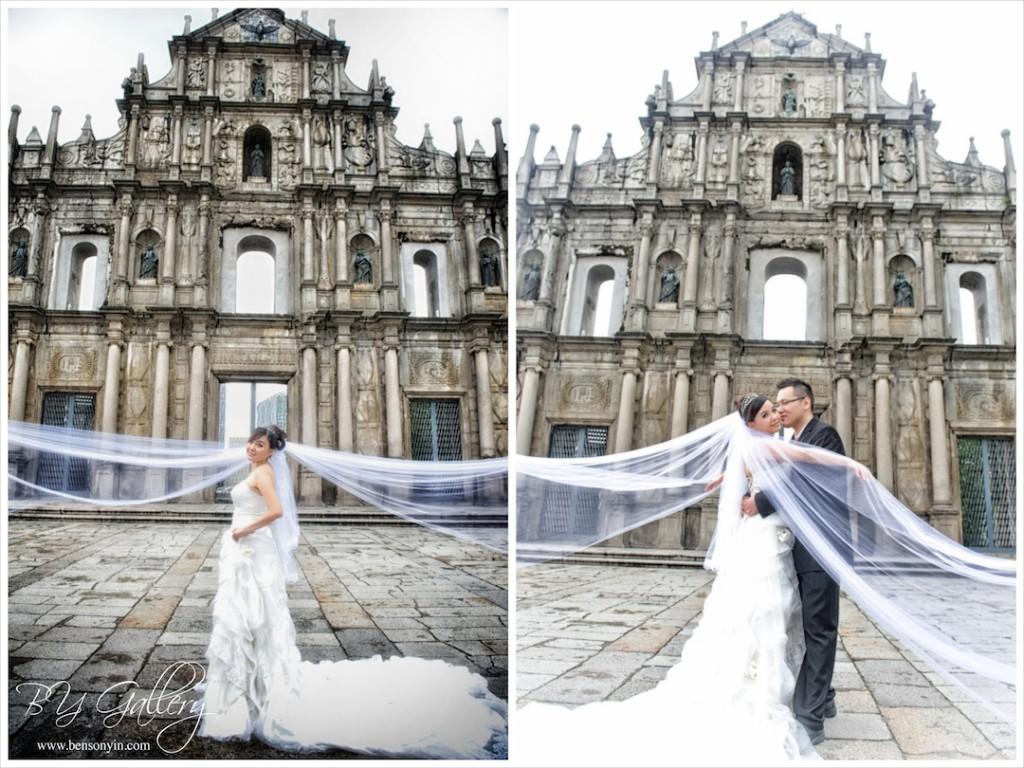Ruins of St Paul Macau Pre-wedding