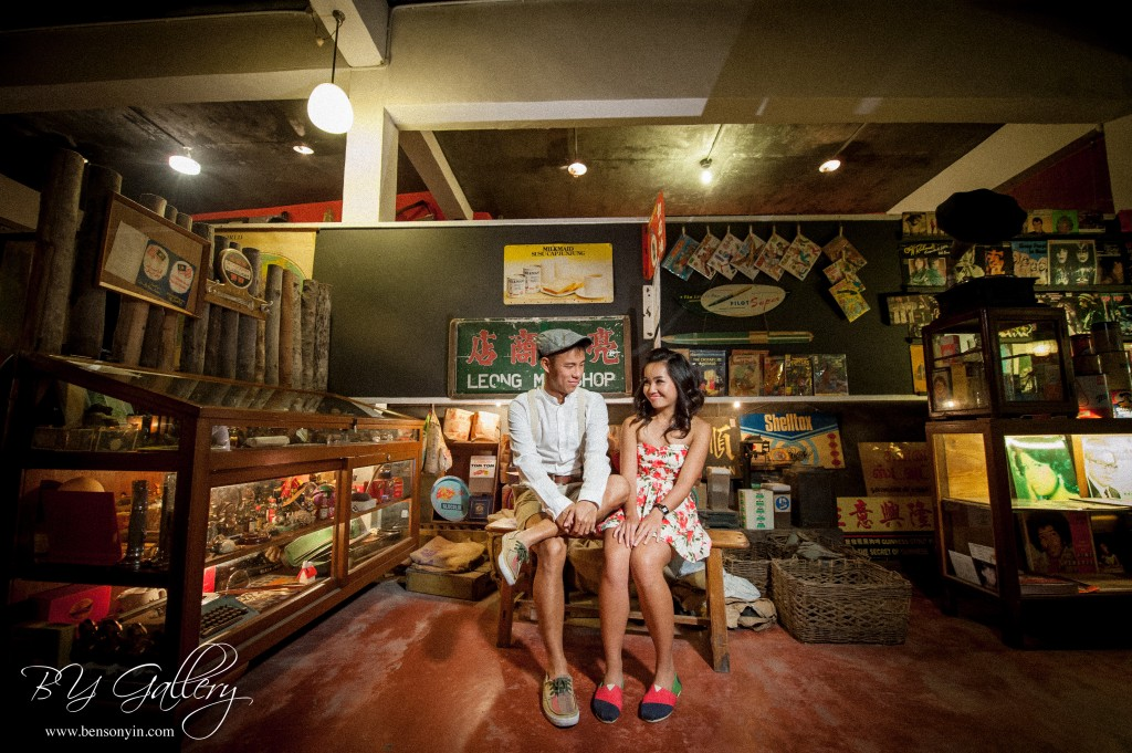 vintage pre-wedding malaysia wedding photographer