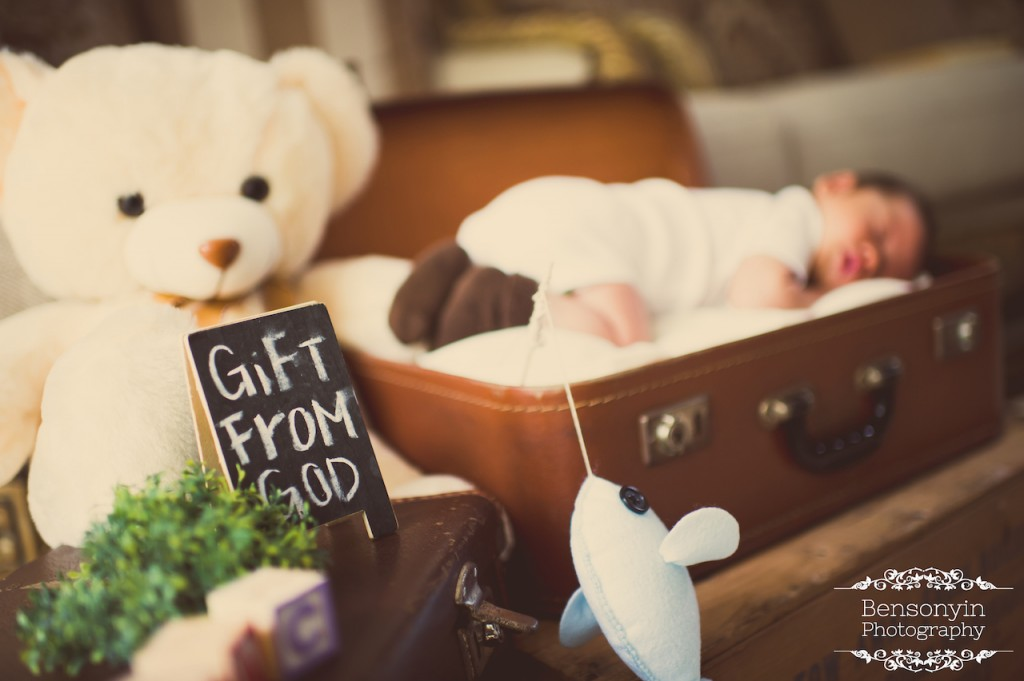 baby newborn portrait photography