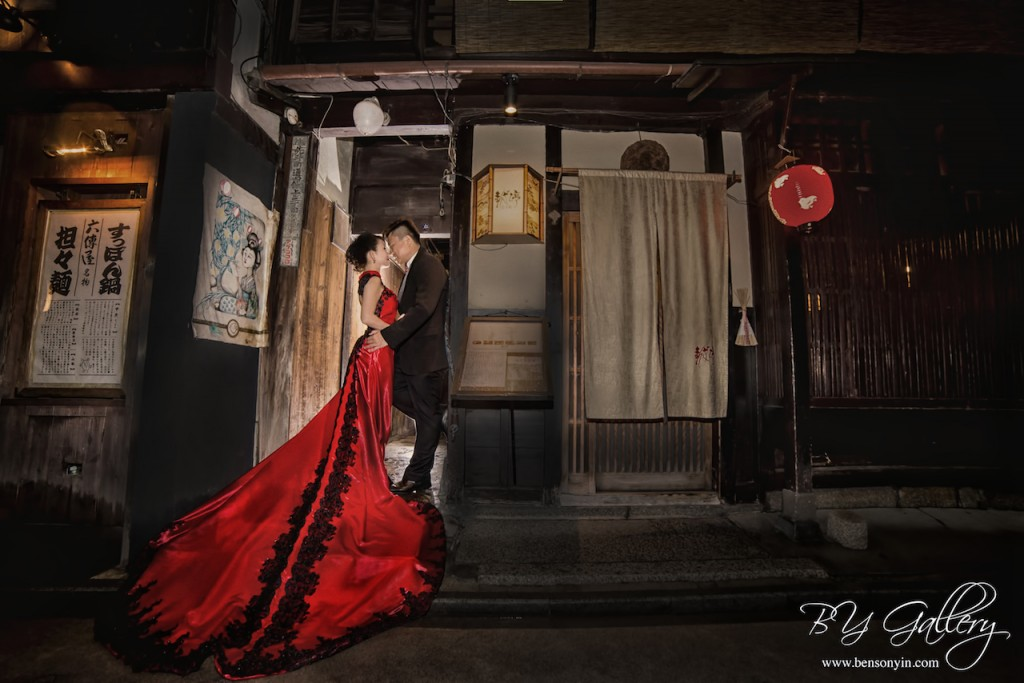 kyoto japan sakura pre-wedding