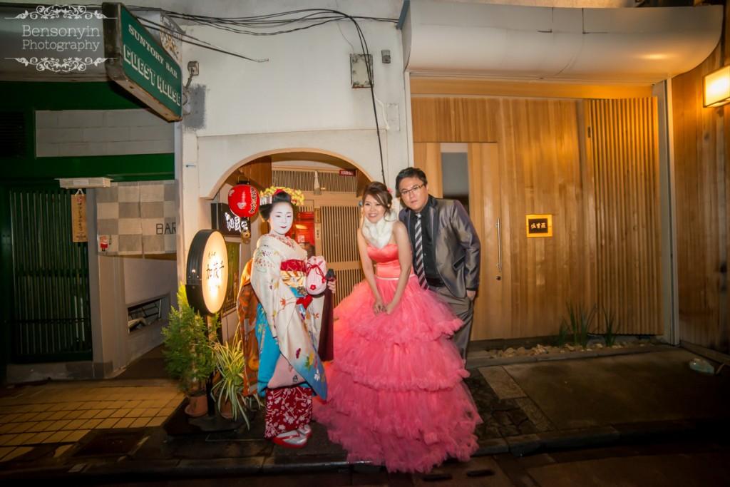 kyoto japan autumn pre-wedding